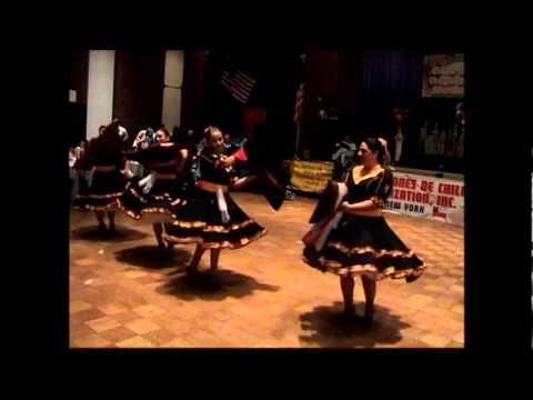 Grupo folklorico Puro Chile en 1er encuentro folklorico de USA 2012
