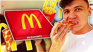 TASTING MCDONALD'S SECRET MENU DELIVERY PIZZA (Taste Test)