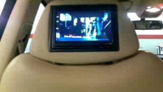 Bentley Arnage car entertainment