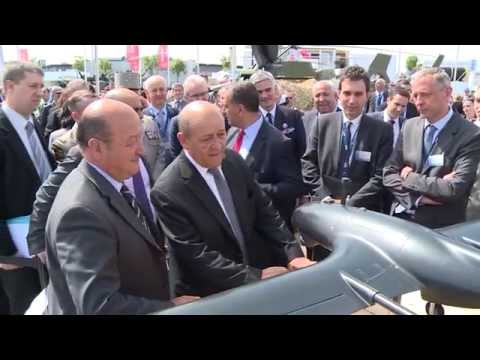 The first day of Eurosatory 2014