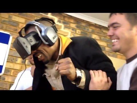 Oculus Rift - Reações Bizarras