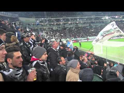 Juventus vs Parma 2-1 Curva Sud 26/03/2014