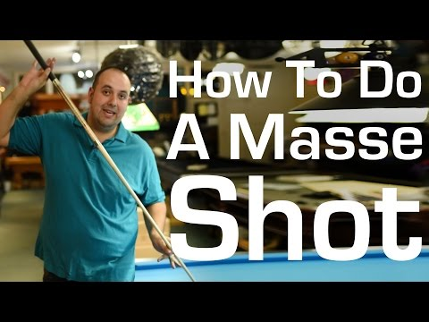 How to Do a Masse shot