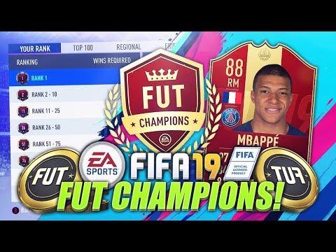 FIFA 19 LIVE FUT CHAMPIONS!