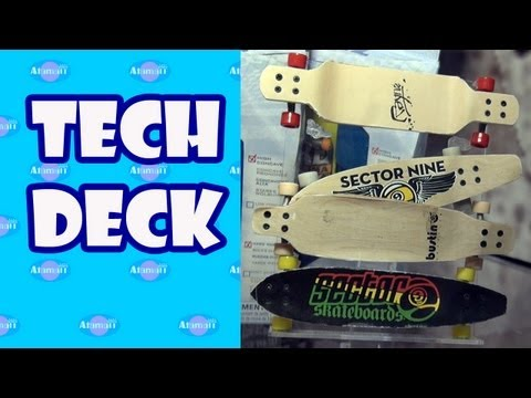 Tech Deck Fingerboards and Longboards New York Toy Fair Preview