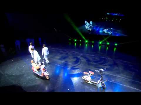 HD 140904 EXO Growl + XOXO + Overdose @ AIMA MIX Bicycle Fanmeeting