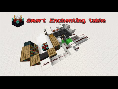 Minecraft: Smart Enchanting Table!