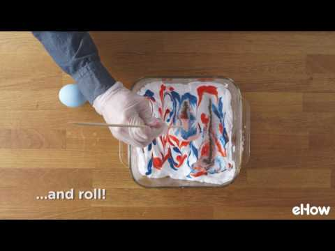 How to Create Swirled Easter Eggs
