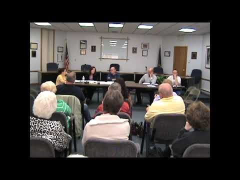 Rouses Point Village Board Meeting  4-19-12
