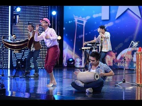 Thailand's Got Talent s.4-4D EP4 - Bangkok Wakeup