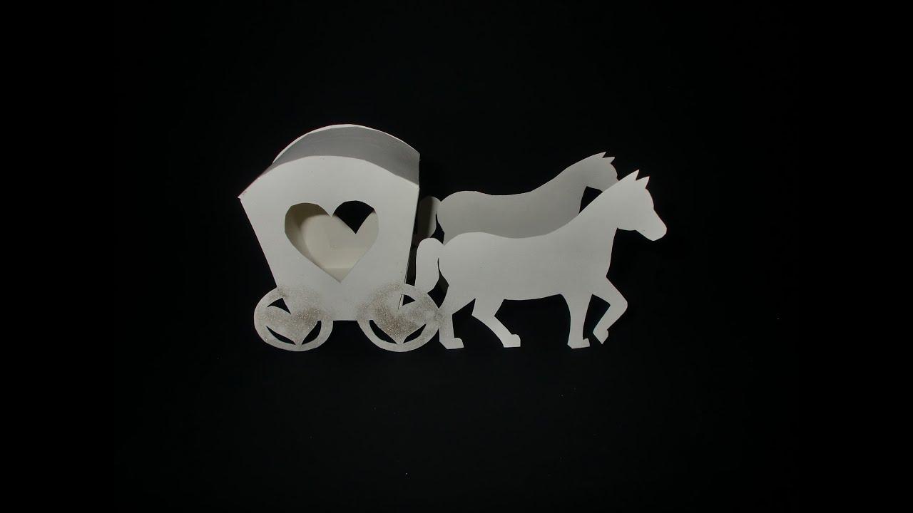 Kutsche aus Papier: Carriage Paper-ART - Tutorial [HD/deutsch ...