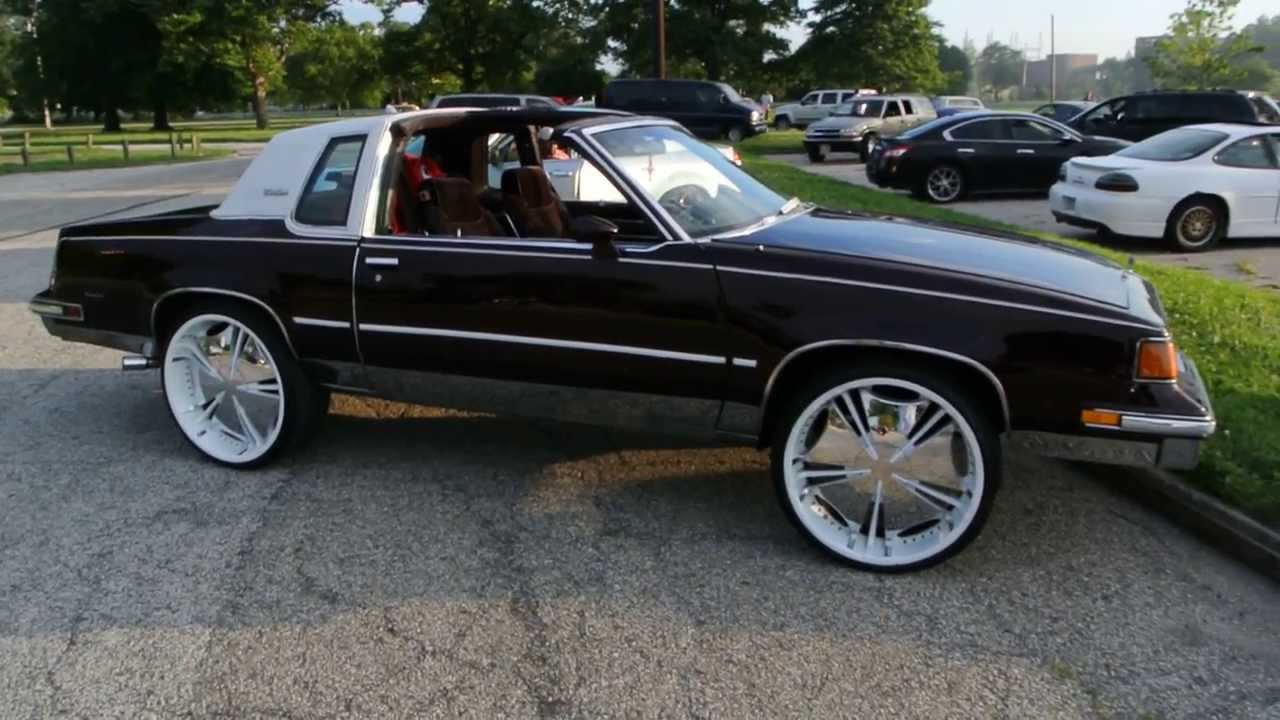 1987 olds cutlass supreme w t tops on 24 39 s hd youtube for 87 cutlass salon