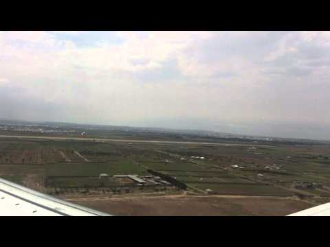 Take off Baku Airport (Baku, Azerbaijan)