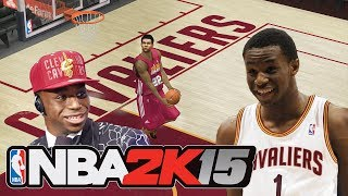 NBA 2K15 ANDREW WIGGINS ROOKIE PREVIEW! Modded NBA 2K14