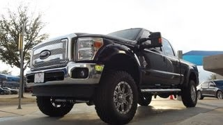 "Mud Ready And Doing Right 6"" LIFTED 2013 F250 4x4 Lariat"