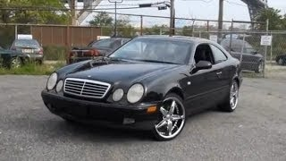 2000 Mercedes-Benz CLK320 Coupe Foose Wheels