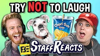 Try To Watch This Without Laughing or Grinning Battle #9 (ft. FBE Staff)