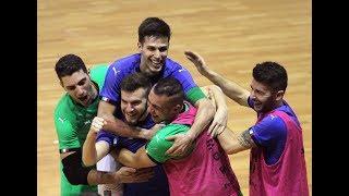 Highlights Futsal: Italia-Polonia (22 gennaio 2018)