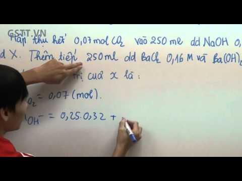 [HÓA] Một số bài Toán về CO2 - bài giảng tại GSTT.VN