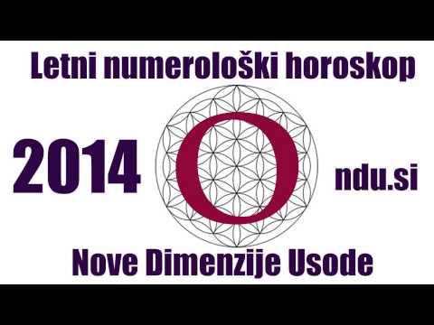 Letni numerološki horoskop 2014 - Splošna napoved za 2014