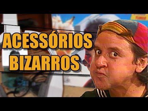 ACESSÓRIOS MAIS BIZARROS DOS VIDEOGAMES!