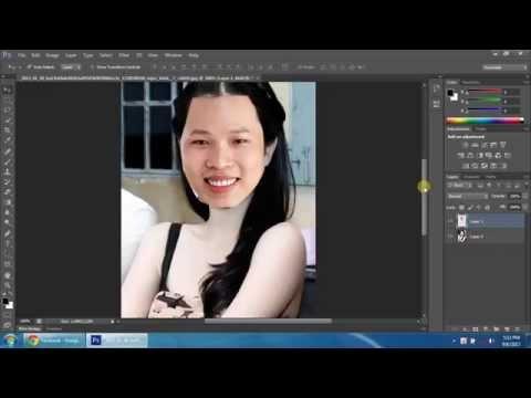 Hướng dẫn ghép ảnh đẹp với Photoshop