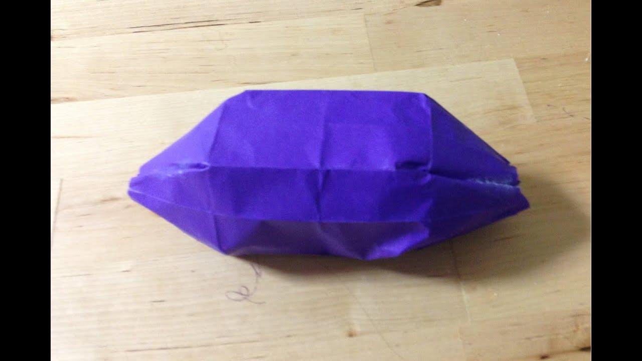 折り紙の 折り紙の織り方 : 折り紙 さつまいも 折り方 ...