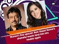 RGV lands in trouble for tweets on women..