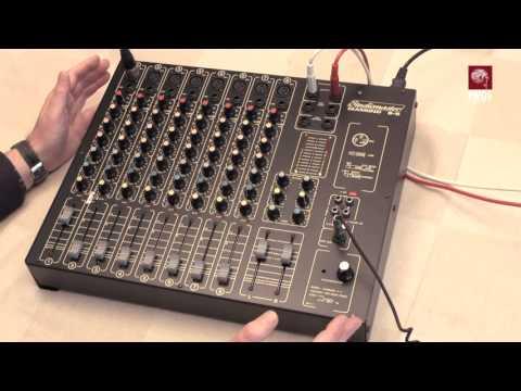 Studiomaster Diamond 8 2 Mixer Overview Youtube
