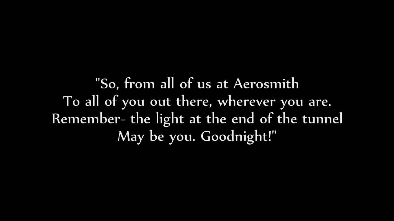 Areosmith lyrics