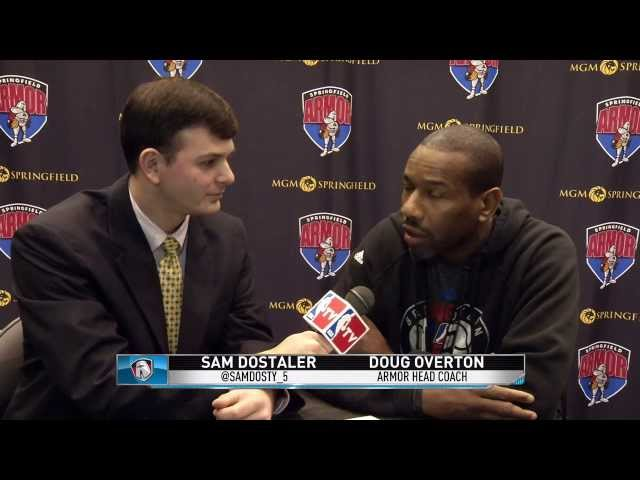 Armor Coach Doug Overton's interview  020314