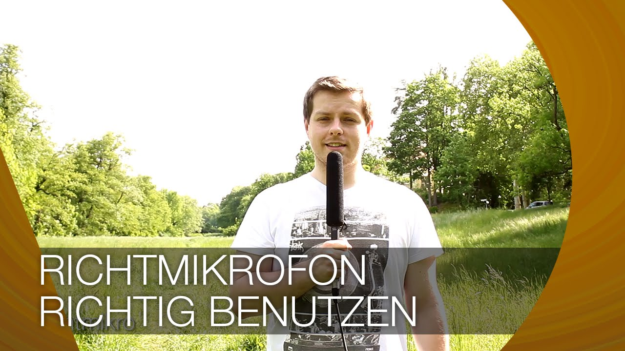 richtmikrofon richtig benutzen i tutorial youtube. Black Bedroom Furniture Sets. Home Design Ideas