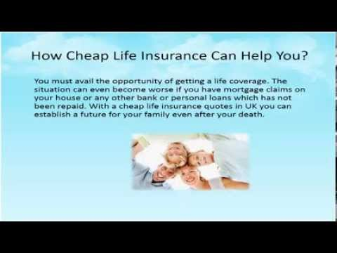 Cheap Life Insurance UK