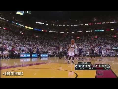 Chris Bosh & Dwyane Wade Full Combined Highlights vs Bobcats - 2014 Playoffs East R1G2
