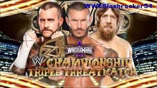 WWE WrestleMania 30 Full Match Card Official Theme Song