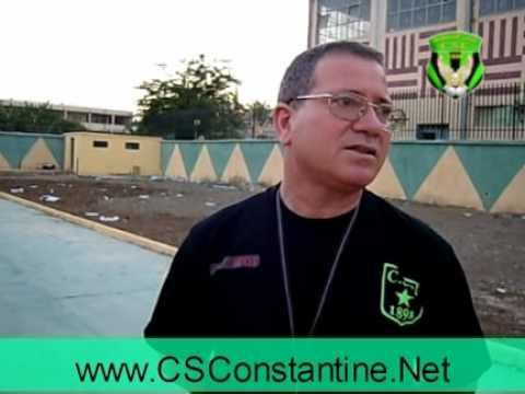 Interview avec le coach M'himdet - CS Constantine