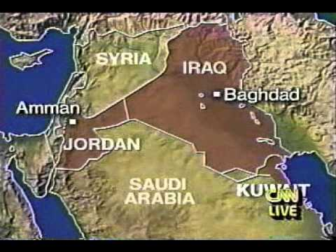 kuwait war 1 hour from start - cnn vhs