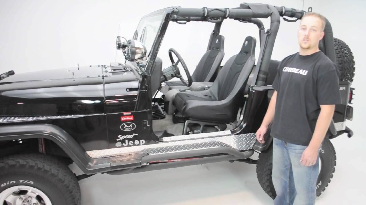 Corbeau Direct Bolt In Seats For Cj Yj Jeep Wranglers