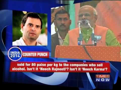 Punch-Counter Punch: Rahul Gandhi vs Narendra Modi