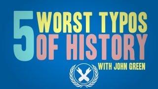 5 Worst Typos of History