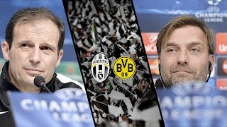 Juventus-Borussia Dortmund, la vigilia - Build-up