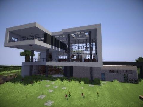 Minecraft modern house #9 (Modernes Haus) [HD]