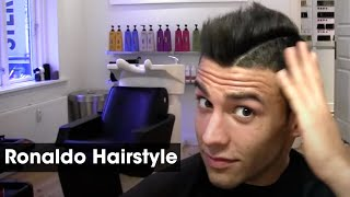 Cristiano Ronaldo Inspired Haircut Tutorial How To Style