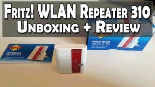 Fritz! WLAN Repeater 310 Unboxing + Review