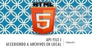 Curso de HTML 5. Parte 54