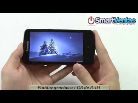 SmartPhone IBM Lenovo A820 con Android 4.1 CPU Quad Core Cámara de 8.0MP Pantalla de 4.5 Pulgadas