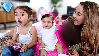 BABY GETS HER EARS PIERCED!!! (EMOTIONAL DAY)