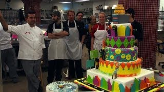 Making the Robin Roberts Cake | Cake Boss