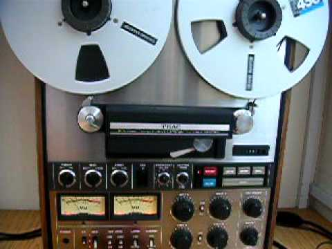 Teac A-7300 Reel to Reel Tape Deck Demonstration - YouTube