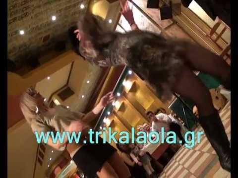 Τρίκαλα Καλαμπάκα τσιφτετέλι σπέσιαλ χορός Αύρας 18-2-12